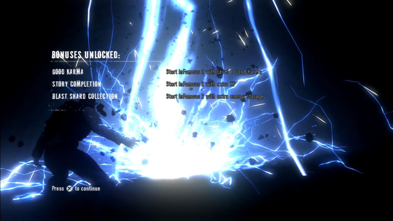 Late Infamous 1 & 2 Review - The Late Gamer on infamous blast shards, infamous ps3, infamous 2 all powers, dead island map, infamous 1 shard locations,